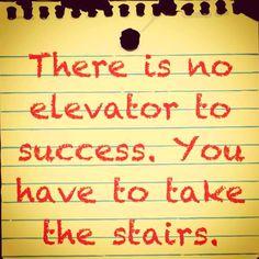 Der #Weg #zum #Erfolg - bequem geht´s nicht ...