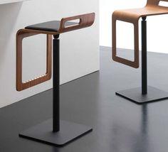Contemporary bar stool SGABY RICCARDO RIVOLI Design
