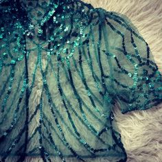 """From my private collection- #vintage #tulle #sequins #bolero #jacket #circa1930s"""