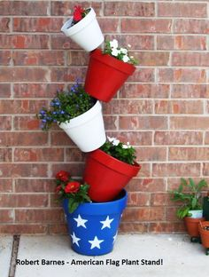 American Flag Stand @ amazingplantstand.biz