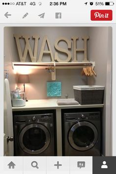 Laundry Room - So neat & clean!