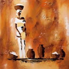 African Culture by Subject, Wall Art and Home Décor at Art.com