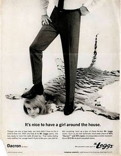 Mr. Leggs Pants: Because nothing says a nice pair of pants like a woman's head sewn to a tiger skin carpet.