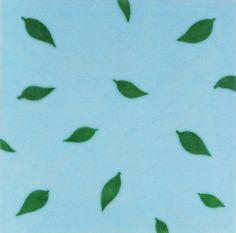 LEAVES FALLING (1997) • Resin, felt, acrylic on wood •www.lucywhite.com