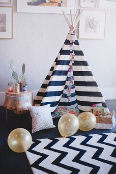 Navajo baby shower by Grit |100 Layer Cakelet