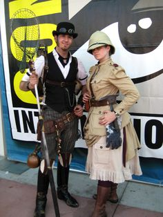 Steampunk Fashion - 1886 Vulcanologist#comments