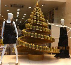 Del Carmen by Sarruc: Idéias para decoração de vitrines de Natal