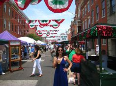 St. Anthony's Festival in Little Italy in Baltimore