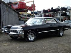 Saving my money for this car.. 1967 Chevy Impala 4 door.. Beautiful