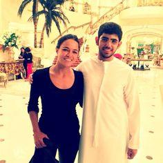 with Khalifa Al Nahyan