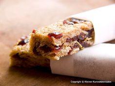 Kleiner Kuriositätenladen: Cranberry-Müsliriegel