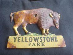 Yellowstone Park Bison