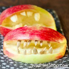 Halloween Treat ~ Apple Jaws