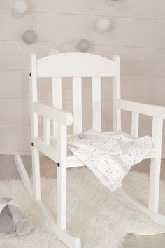 Chambre bébé mixte, ambiance 100% douceur #chambre #bébé #gris #blanc