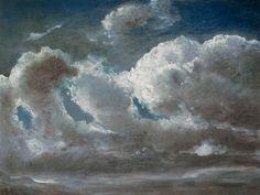 Bild:  Carl Gustav Carus - Wolkenstudie