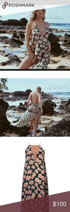 NWT acacia Makawao dress in Mahalo NWT authentic Acacia makawao dress in mahalo color. The dress is a size small. Sold out everywhere acacia swimwear Swim Coverups