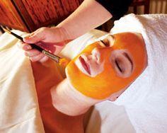 DIY Pumpkin Facial Mask