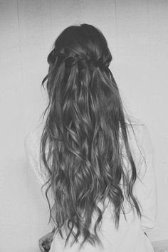 { waterfall braid }