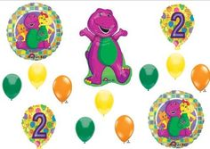 BARNEY 2nd BIRTHDAY
