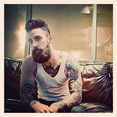 Admirable Awesome Full Beard And Chris D39Elia On Pinterest Short Hairstyles Gunalazisus
