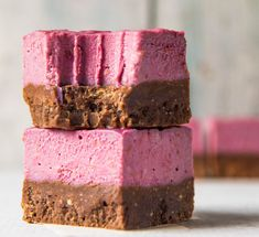 Quick and Easy Choc-Berry Slice ~ Wholefood Simply