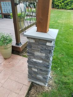 Check out how Milissa's husband and father installed beautiful patio columns in just one weekend with Norwich Stacked Stone column wraps. One of our most innovative products is our co…