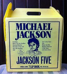 Michael Jackson - Jackson Five - 7 Albums Box Set - extremely RARE Collectible. Michael Jackson Scream, Michael Jackson Dangerous, Michael Jackson Thriller, Got To Be There, Ain't No Sunshine, Maybe Tomorrow, The Jacksons, Jackson 5, The Wiz