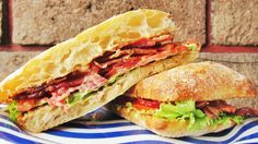 BLT Sandwich by Chow with Xhico #bacon