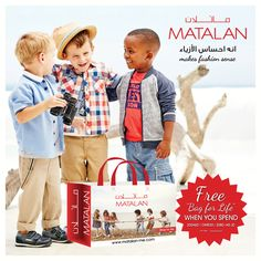 """Grab your attractive and reusable """"Free Bag for Life"""" when you spend 200AED/ OMR20 / 20BD / 40JD at Matalan! UK's No. 1 Departmental Value store!! Try our Quality at Great Price that makes FASHION Sense!    www.matalan-me.com    #Matalanme  #Free  #BagForLife  #Favorite #attractive #Bag #Fashion  #Ladies  #Mens  #Kids  #Home #Trend  #GoodQuality #GreatPrice #UAE  #Oman  #Jordan  #Bahrain #MakesFashionSense"""