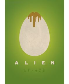 Alternative movie poster for ALIEN by Mister Gamma