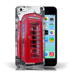 Designer Mobile Phone Case / London England Collection / Red Phone Box #case #cover #iphone #smartphone #london #phone #box