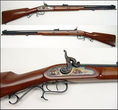 .54 caliber THOMPSON CENTER ARMS RENEGADE. This is the gun my father taught me to hunt with. RIP Dad