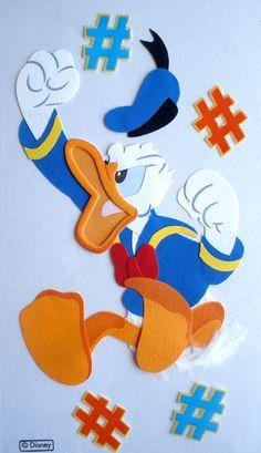 donald duck   DISNEY DONALD DUCK ANGRY JOLEES BOUTIQUE SCRAPBOOKING STICKERS