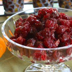 Grand Marnier Cranberry Sauce. I have made this for Thanksgivings past and it is fabulous!