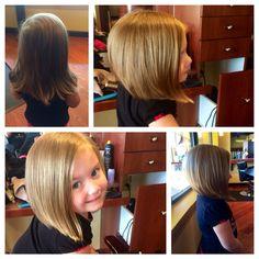 #bob #haircut #littlegirlshaircut #trendy