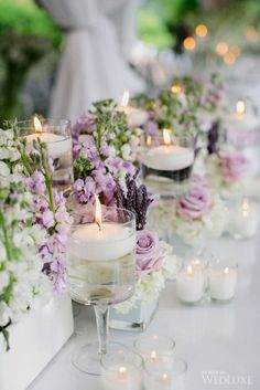 The Best Lavender Wedding Decor Ideas ❤ See more: http://www.weddingforward.com/lavender-wedding-decor-ideas/ #weddings