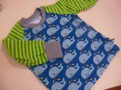 Shirt Wale grün Bio Gr. 62-140