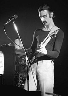 Frank Zappa of the Mothers of Invention and other stuff.