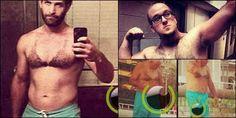 6 Pria Kocak dengan bentuk Bulu Dada seperti Bikin