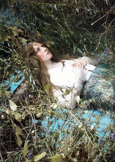 Saoirse Ronan for Vogue, by Steven Meisel  December 2011