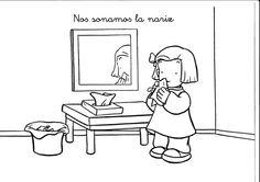 Maestra de Infantil: Hábitos diarios en infantil. Normas y rutinas. Usamos pañuelos