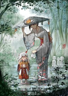 [onmyoji] fan art - chap 5 - Page 3 - Wattpad Samurai, Art And Illustration, Anime Chibi, Manga Anime, Natsume Yuujinchou, Dibujos Cute, Character Design Inspiration, Anime Comics, Chinese Art