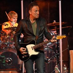 Bruce Springsteen performs onstage during MusiCares MAP Fund Benefit Concert at Best Buy Theater on May 28, 2015 in New York City. All proceeds from this concert will benefit the MusiCares MAP Fund, which provides members of the music community access to addiction recovery treatment regardless of their financial situation. (Photo by Kevin Mazur/WireImage for NARAS)