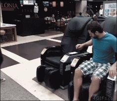 silla electrocutado