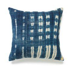 Vintage Indigo Pillow XIII