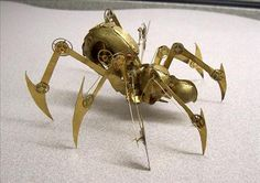Clockwork spider.