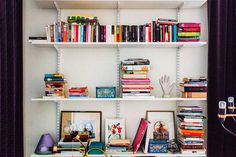 my scandinavian home: The worry-free way of buying a home, Stockholm style Shelfie, Scandinavian Home, Nooks, Home Buying, Office Decor, Ideal Home, Bookcase, Stockholm Style, House Design