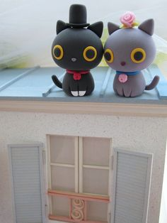 kitty cake toppers