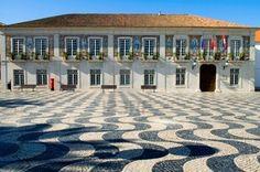 wavy tile streets  Cascais, Portugal