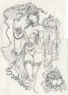 Samhain Holiday by Anyae.deviantart.com on @deviantART